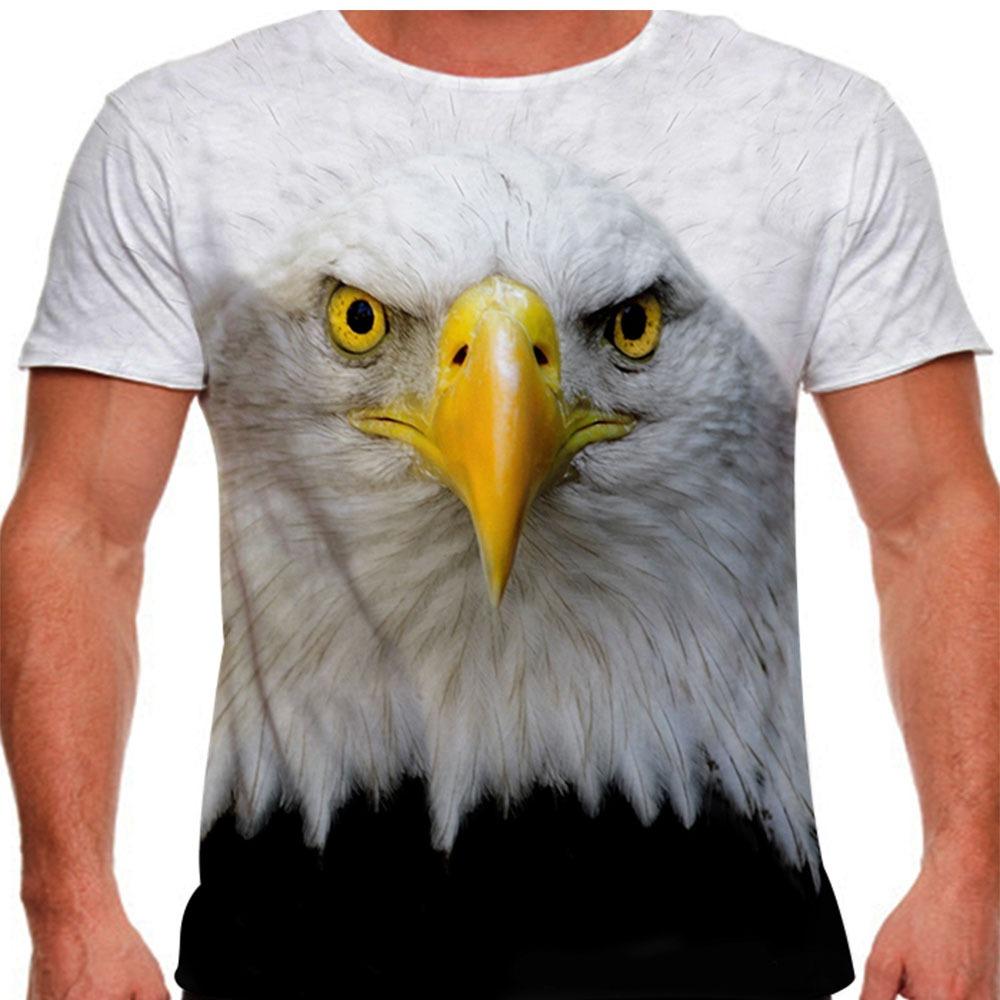 Camiseta Águia Americana Masculina - R  51 036d8eac4a524
