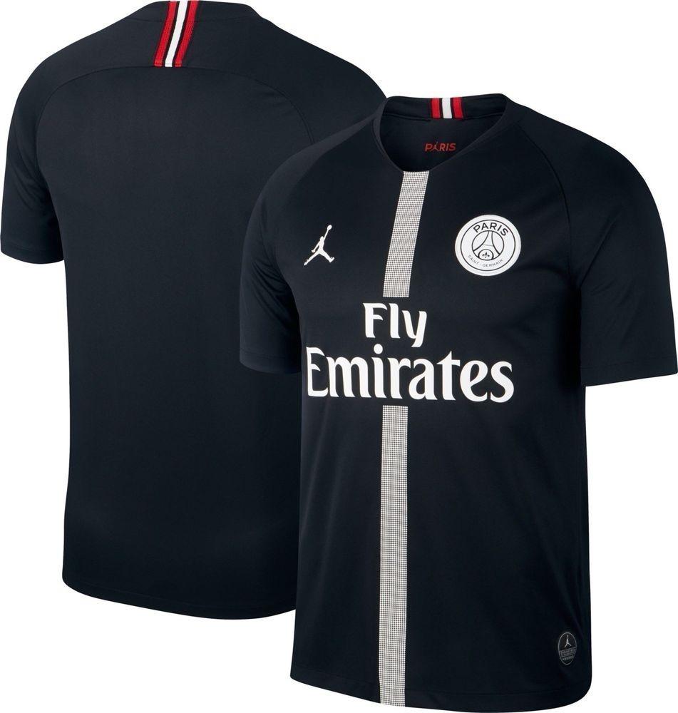Camiseta Air Jordan X Psg Iii 18 19 Adulto + Frete Original - R  179 ... 5966e9f4b9f4e