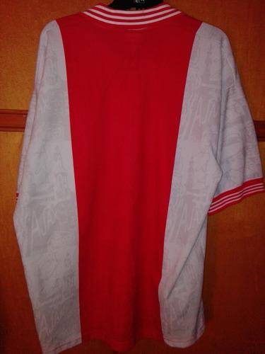 camiseta ajax 1995/1996
