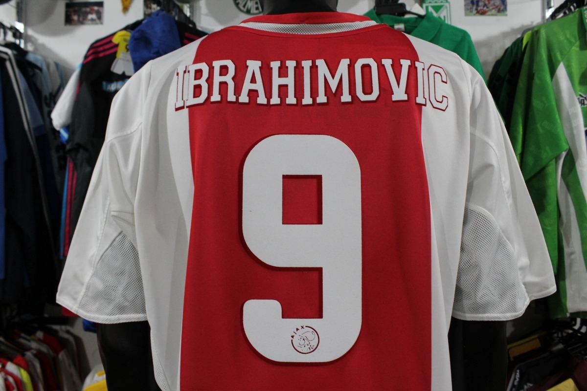 new style 5f3d0 e388c Camiseta Ajax De Holanda #9 Ibrahimovic adidas Talla Xl Xdx - $ 150.000