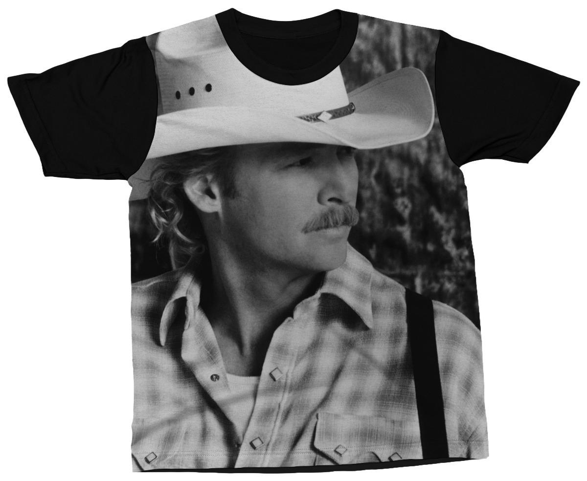 camiseta alan jackson cantor country blusa camisa estampada. Carregando  zoom. e93546c1166
