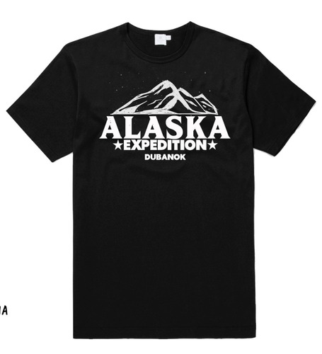 camiseta alaska expedition by dubanok