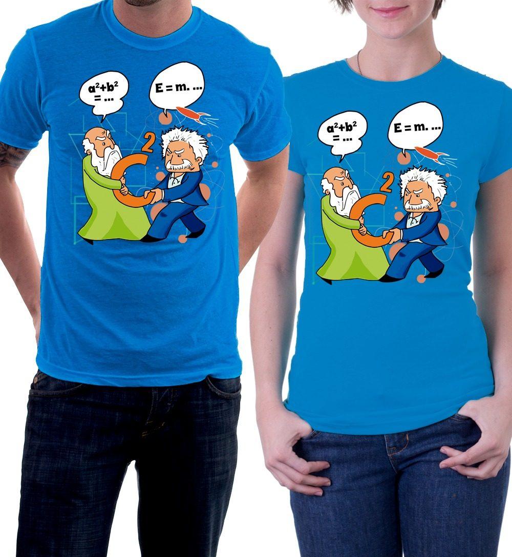 a4166d918 camiseta albert einstein pitágoras física matemática. Carregando zoom.