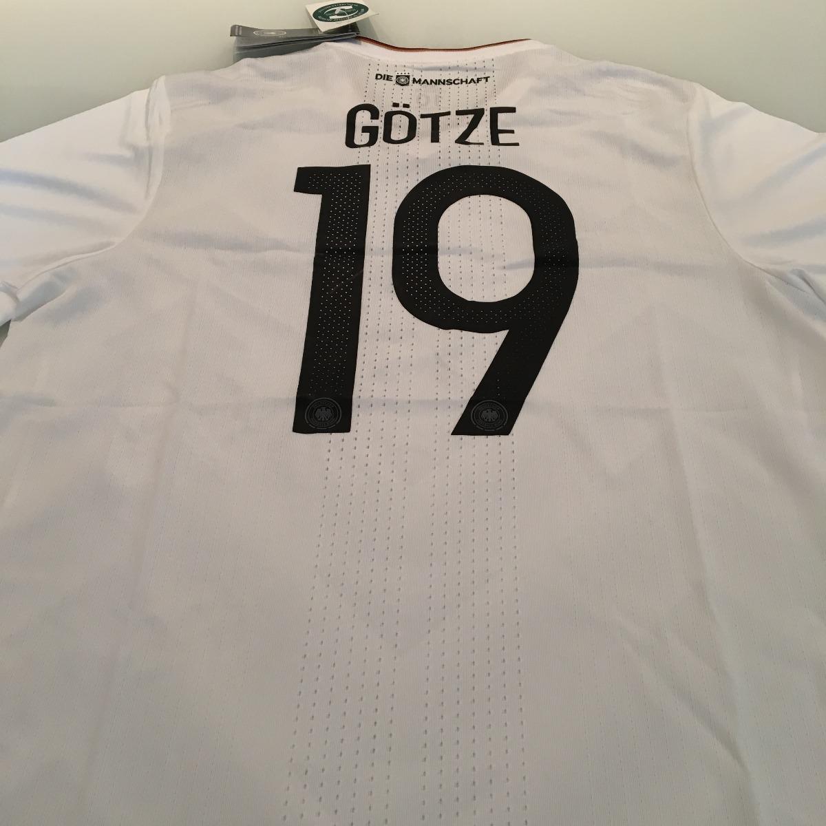b388c4584b camiseta alemanha -  19 gotze - modelo jogador - original. Carregando zoom.