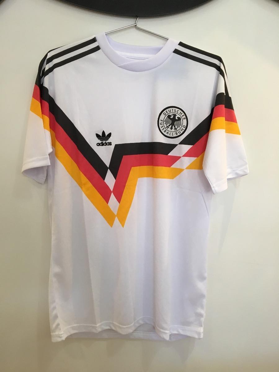 Camiseta Alemanha - Modelo Copa Do Mundo 1990 - R  139 d992478d36fe8