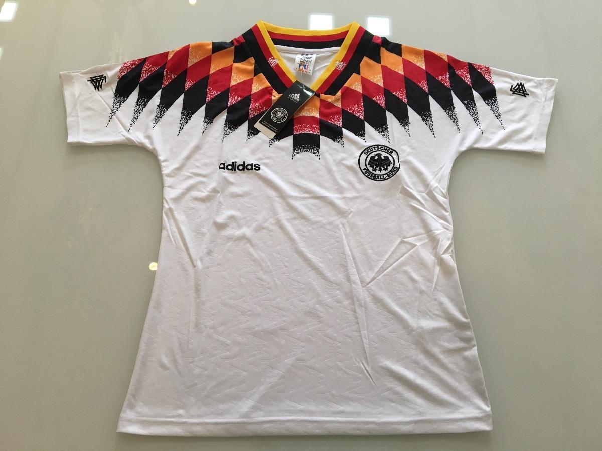 c14321231ea41 Camiseta Alemanha - Modelo Copa Do Mundo 1994 - Original - R  199