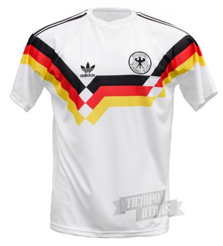 camiseta alemania 1990 retro campeón italia