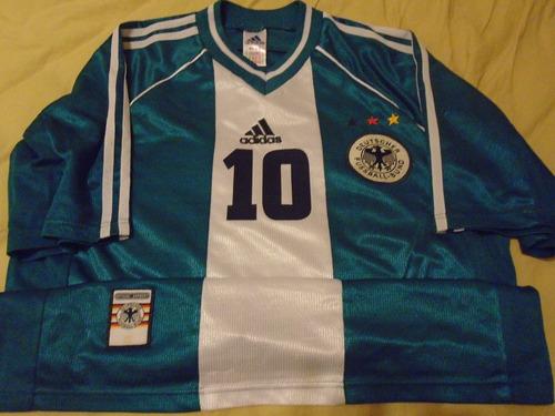 camiseta alemania 1998 selección