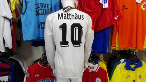 camiseta alemania lothar matthäus adidas