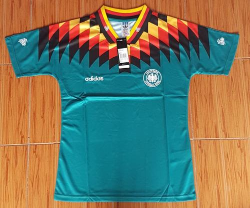 camiseta alemania suplente 94 retro ho
