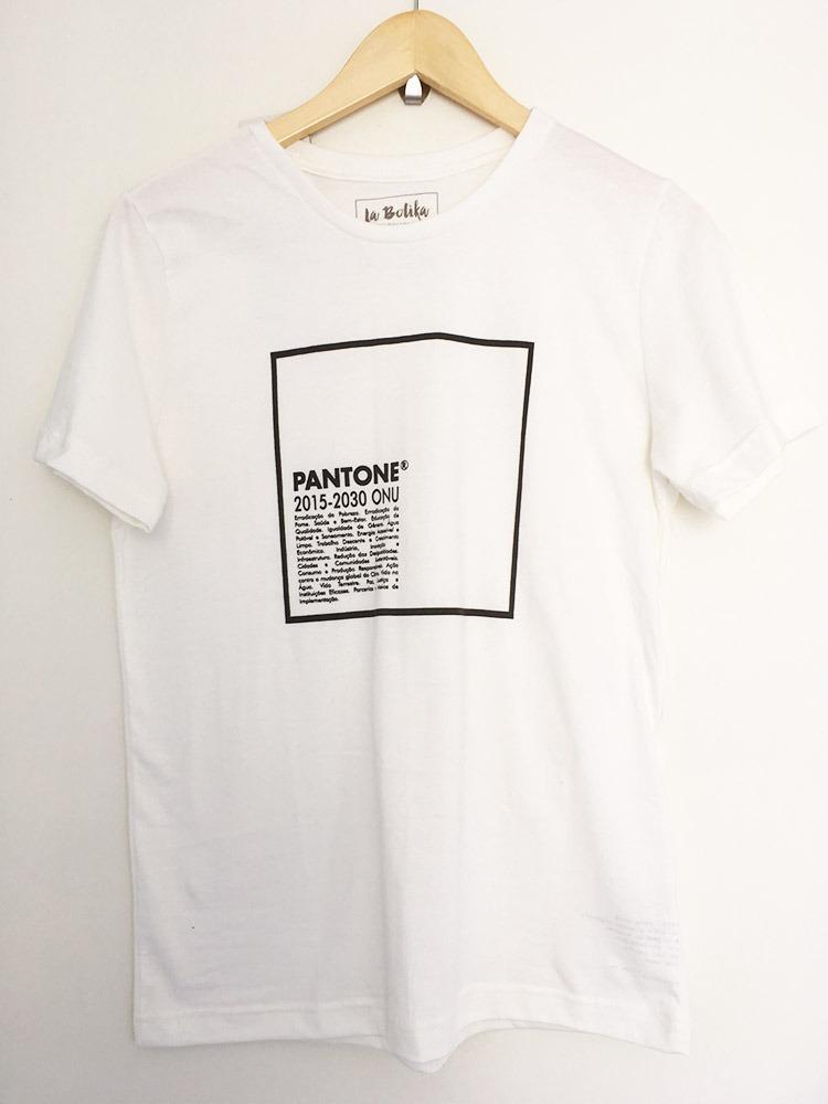 Características. Marca La Botika  Modelo Fit  Desenho do tecido Geométrico   Gênero Masculino  Material da camiseta Algodão Orgânico ... 6a811ad2bb5