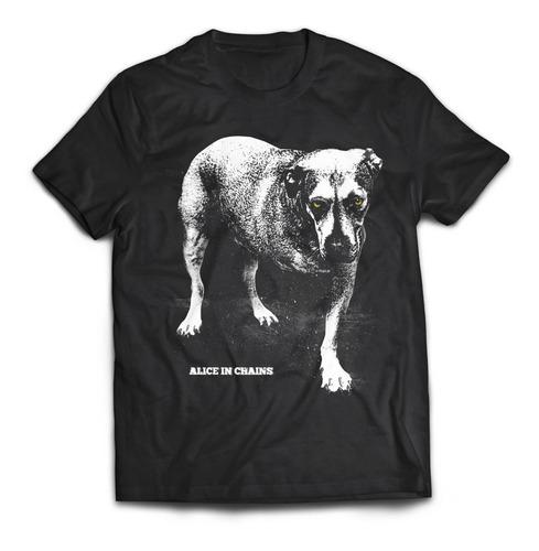 camiseta alice in chains dog rock activity