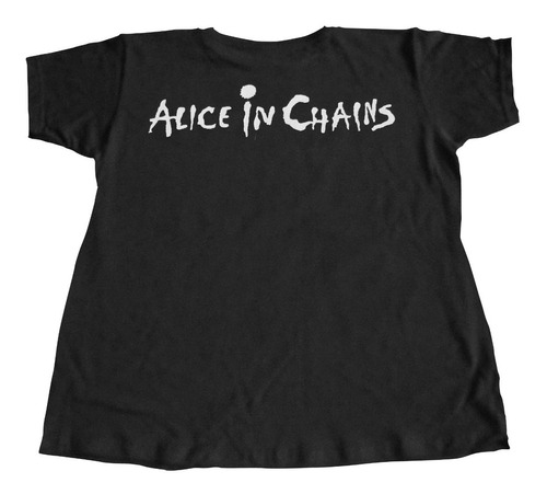 camiseta alice in chains treehouse tapes rock activity