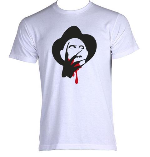 camiseta allsgeek adulto freddy krueger terror trash 006