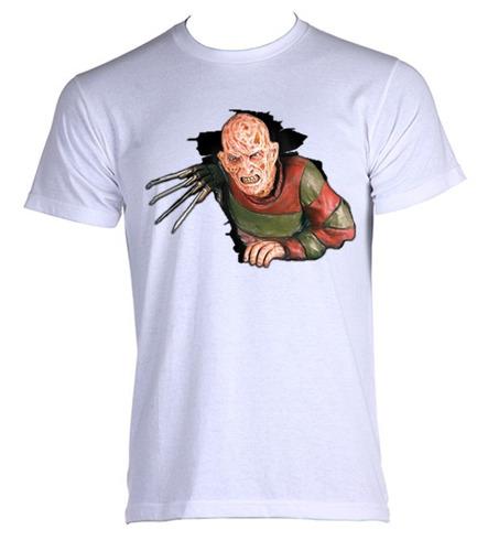 camiseta allsgeek adulto freddy krueger terror trash 007