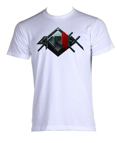 camiseta allsgeek adulto skrillex dj games 007