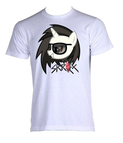 camiseta allsgeek adulto skrillex dj games 012