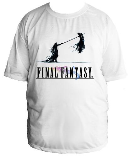 camiseta allsgeek final fantasy jogo tamanho especial 09