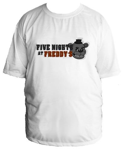 camiseta allsgeek five night at freddy's tamanho especial 09