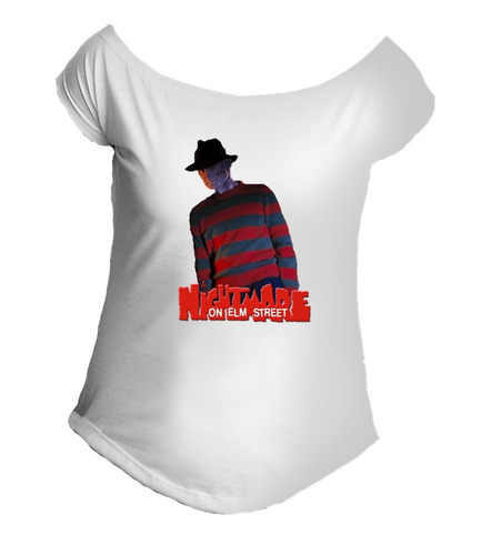 camiseta allsgeek freddy krueger filme terror gola canoa 09