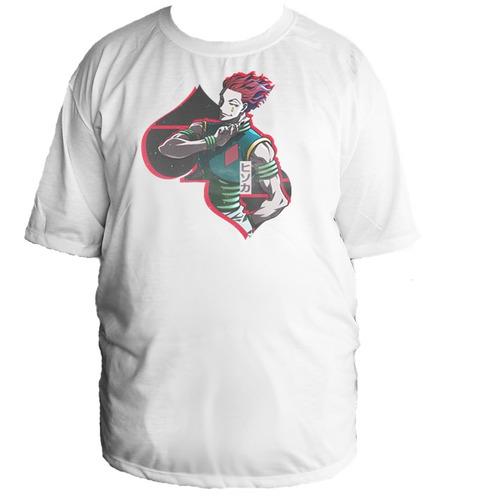 camiseta allsgeek hunter x hunter killua tamanho especial 10