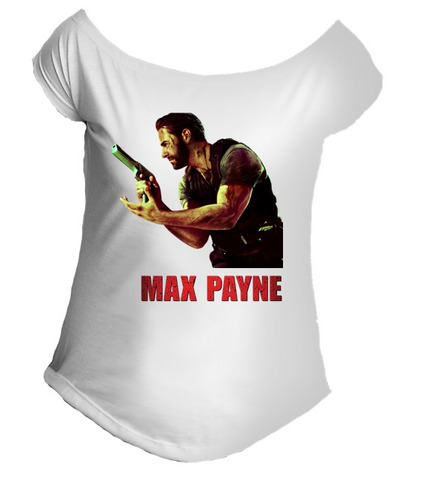 camiseta allsgeek max payne jogo fps gola canoa 002