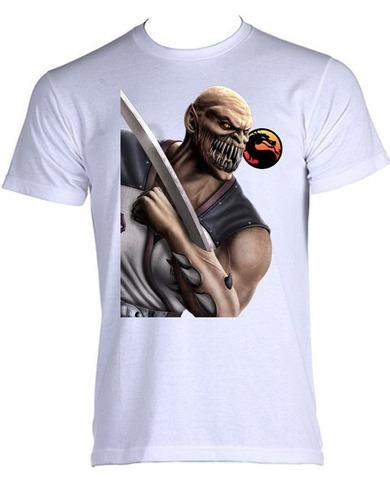 camiseta allsgeek mortal kombat - baraka - do p ao gg