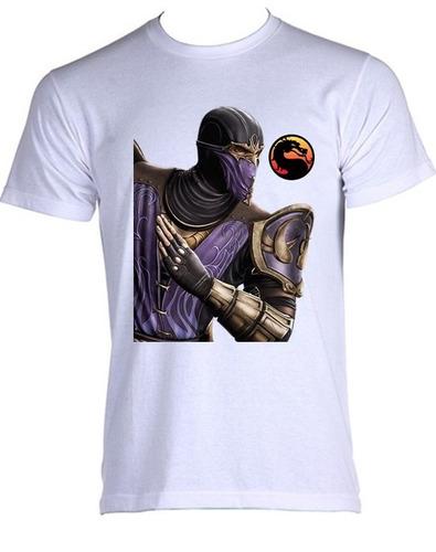 camiseta allsgeek mortal kombat - rain - do p ao gg