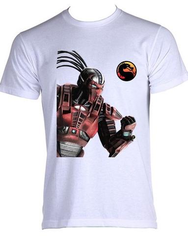 camiseta allsgeek mortal kombat - sektor - do p ao gg