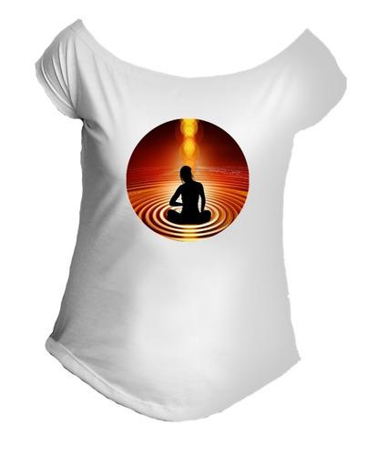 camiseta allsgeek yoga girl pilates meditação gola canoa 015