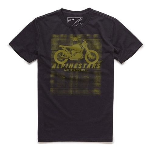 camiseta alpinestars am ride preto