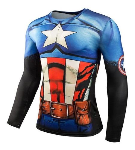 camiseta alter ego slim fit superman 3d #2