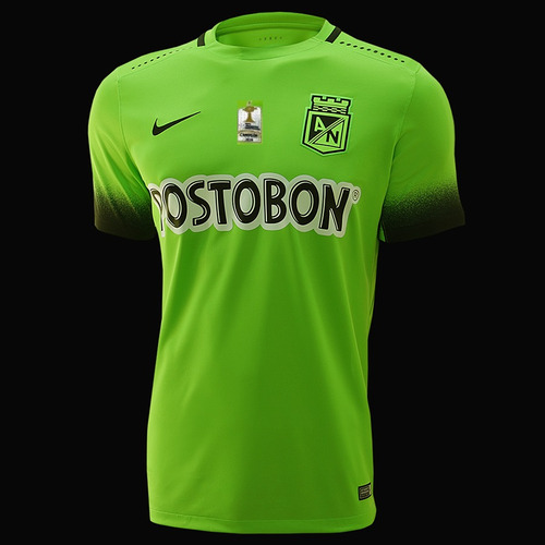 camiseta alterna atletico nacional 2016 logo campeon 30% dto