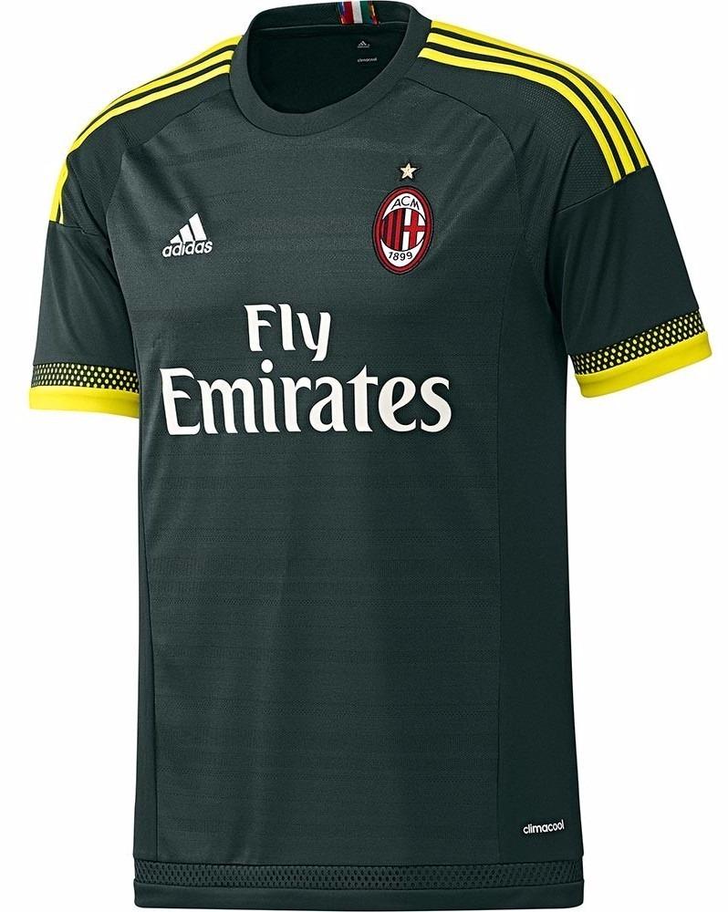 camiseta alternativa ac milan 2015 16 adidas original. Cargando zoom. 345d6cdb7c590