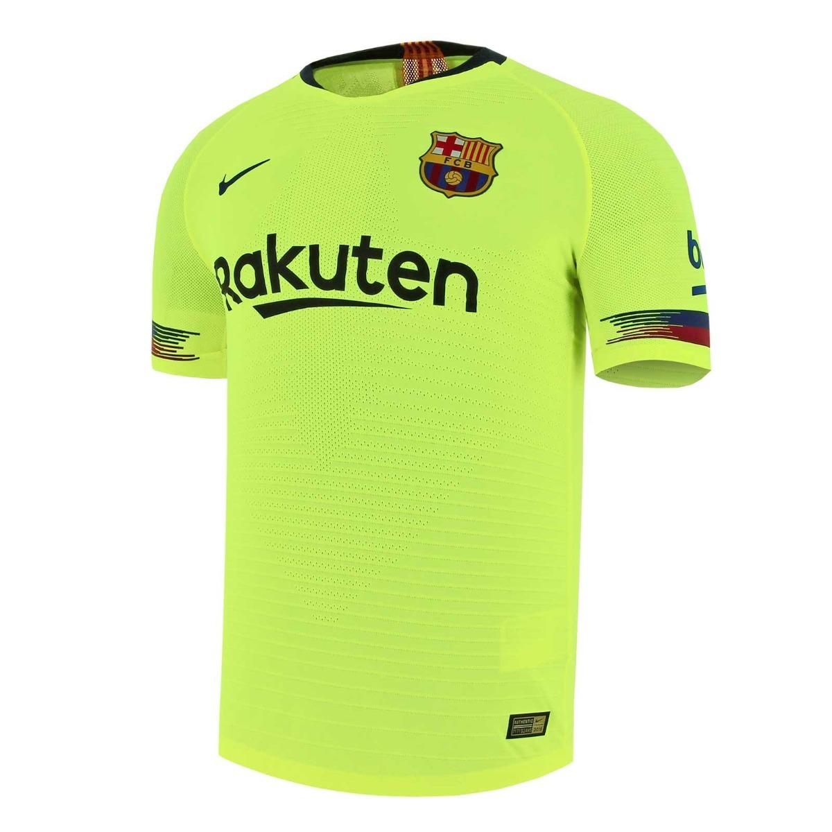 camiseta alternativa amarilla barcelona 2018 2019. Cargando zoom. 34a567b415b
