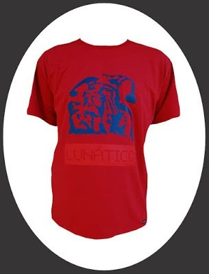 camiseta alternativa lunático