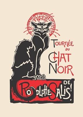 camiseta alternativa rodolphe salis - chat noir