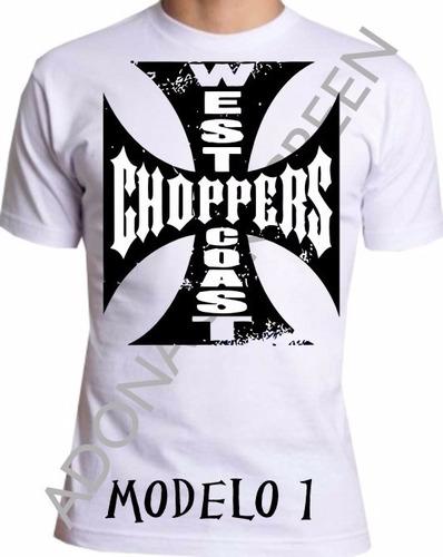 camiseta american chopper branca m-1