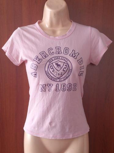 camiseta  americana abercrombie original s liquidooo...