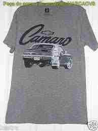 camiseta americana original gm com desenho do camaro antigo