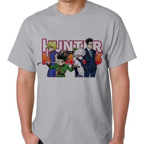 camiseta anime hunter hunter camisa blusa gon killua kurapik