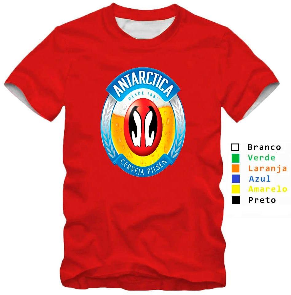 Camiseta Antartica Logo Camisas Cervejas Camisa Bebado Chopp - R  33 ... 5ef0111f6fcdb