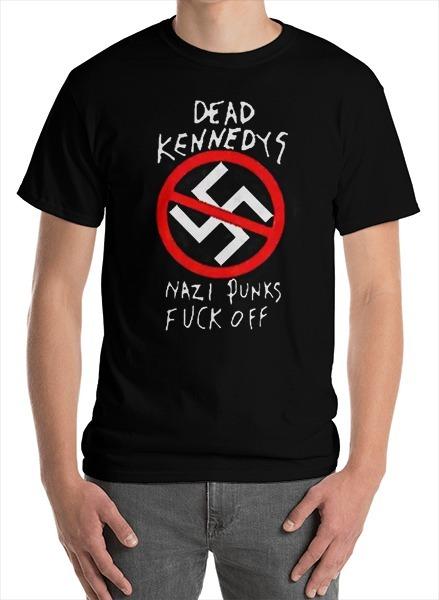 9367751e5 Camiseta Anti Nazi Dead Kennedys - R  40