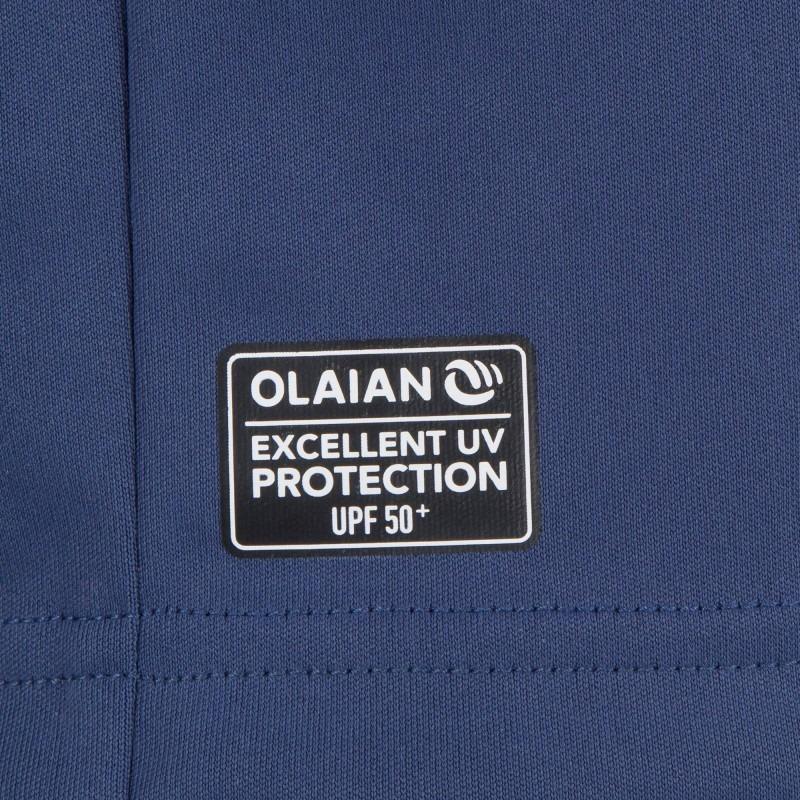 3deff5e14 Camiseta Anti-uv Surf  kayak Manga Larga Hombre Azul Tribord -   800 ...