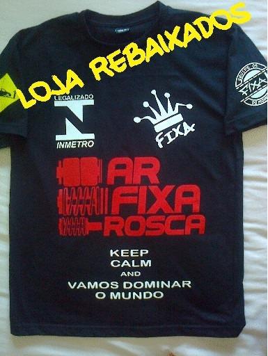 Camiseta Ar Rosca Fixa Carro Rebaixado Camisa Automotivo - R  45 a8e291cfeb7a8