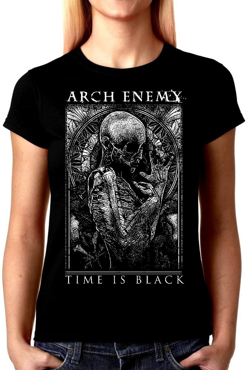 fc362ba9f0 camiseta arch enemy baby look feminina bandas rock time. Carregando zoom.