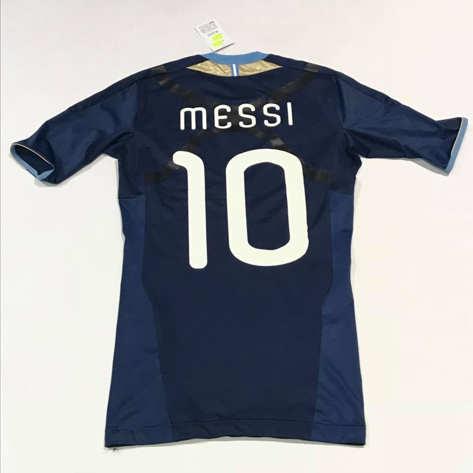Camiseta Argentina Eliminatorias 2014 Mundial Techfit Messi ... f8a24d94b75a3