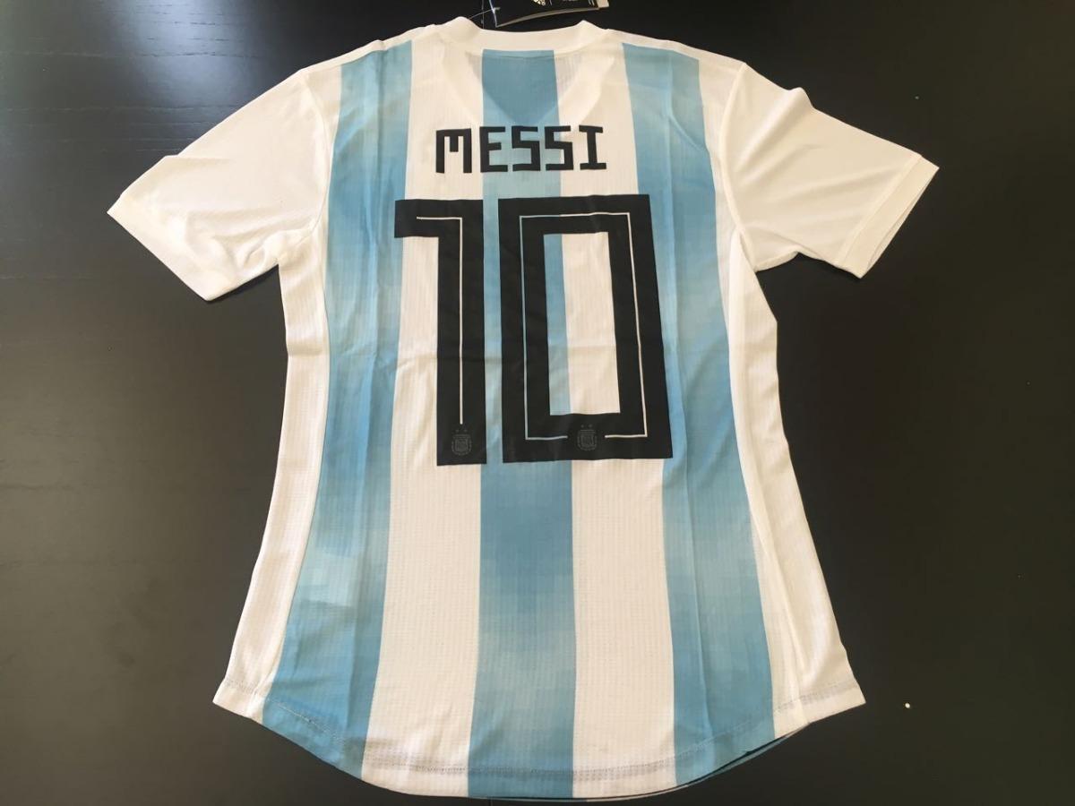 ... camiseta argentina 2018 rusia original climachill player. Cargando zoom...  camiseta argentina 2018 ... a14a7f36a37e8