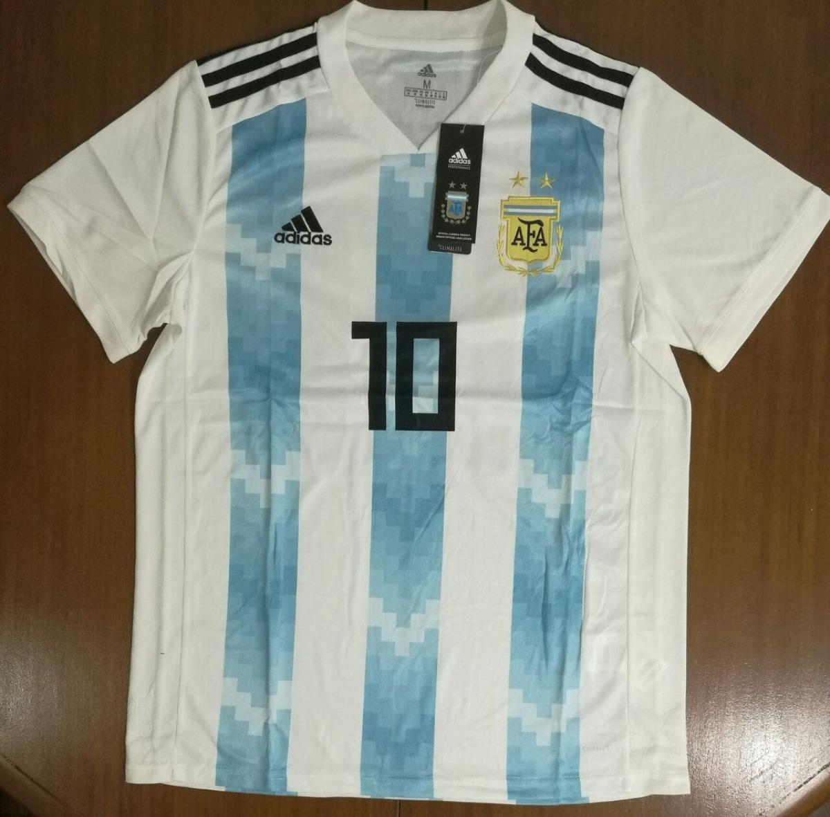 199488d9b60 camiseta argentina 2018 adidas oficial mundial personalizada. Cargando zoom.