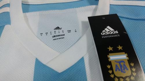 camiseta argentina adidas original - talla s